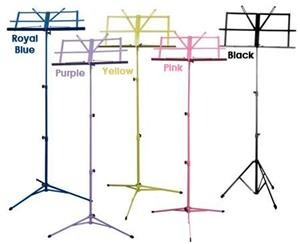Folding Music Stand, 3 Section Pink