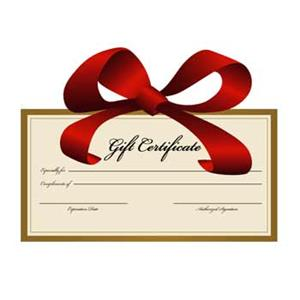 $500.00 Gift Certificate