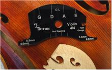 Violin Deluxe Set-up Template, 4/4 size