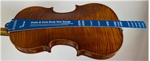 Violin & Viola Body Size Gauge